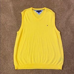 Tommy Hilfiger light sweater vest - XXL